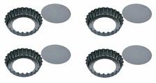 Форма для выпечки стальная Tescoma 623111, 4 шт. (10х2 см)