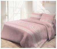 Постельное белье 2-спальное Самойловский текстиль Кружевная пудра 50 х 70 бязь