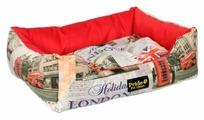 Лежак для собак PRIDE Лондон (10012260) 52х42х10 см