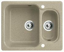 Врезная кухонная мойка belux KM-6150-01 61х51см искусственный гранит