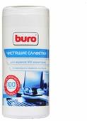 Buro BU-Tscreen влажные салфетки 100 шт. для экрана, для ноутбука