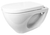 Чаша унитаза подвесная Керамин Трино (консольный) с горизонтальным выпуском