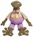 Малиновый слон Набор для изготовления мягкой игрушки Лягушонок Ластик (ТК-016)