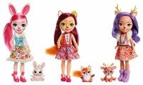 Кукла Enchantimals с любимой зверюшкой, 31 см, FRH51