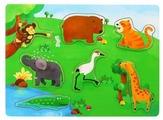 Рамка-вкладыш Benho Дикие животные (13012), 7 дет.