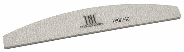 TNL Professional Пилка лодочка хит продаж, 180/240 грит (в индивидуальной упаковке)