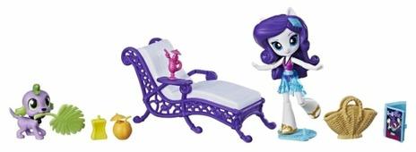 Набор с мини-куклой My Little Pony Equestria Girls Рарити на пляже, 12 см, E1084