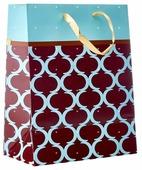 Пакет подарочный УРРА ламинированный 18х23х10 см