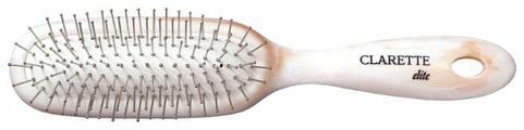 Clarette Щетка для волос на подушке с металлическими зубьями универсальная CEM 352 Elite