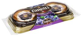 Пирожное Faretti черничное
