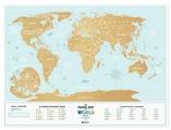 1DEA.me Скретч Карта Мира Holiday Lagoon