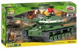 Конструктор Cobi Small Army World War II 2491 Тяжелый танк IS-2M