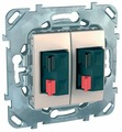 Телекоммуникационная розетка Schneider Electric UNICA MGU5.8787.25ZD