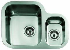Врезная кухонная мойка TEKA Undermount BE 1 1/ 2 B 625R 62.4х46.4см нержавеющая сталь