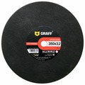 Диск отрезной 350x3.2x25.4 GRAFF GADM 350 32