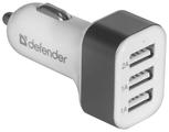 Автомобильная зарядка Defender UCA-03 (83570)