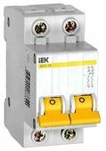 Автоматический выключатель IEK ВА 47-29 2P (D) 4,5kA