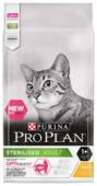Корм для стерилизованных кошек Purina Pro Plan Sterilised для профилактики МКБ, с курицей