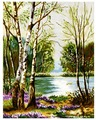 Белоснежка Набор для вышивания Половодье 38,5 x 49 см (2165)