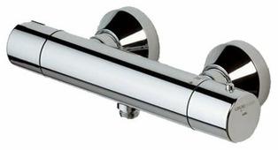 Смеситель для душа Oras Alessi 8570 двухрычажный с термостатом хром