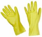 Перчатки HouseHold Gloves латексные с хлопковым напылением