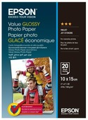 Бумага A6 20 шт. Epson Value Glossy Photo Paper