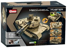 Электромеханический конструктор QiHui Mechanical Master 9801 Танк