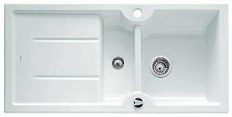 Врезная кухонная мойка Blanco Idessa 6S 100х50см керамика