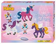 Hama Набор термомозаики Волшебные лошадки midi (3138)