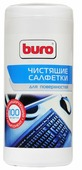 Buro BU-Tsurface влажные салфетки 100 шт. для оргтехники