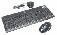 Клавиатура и мышь Logitech UltraX Media Desktop Black USB
