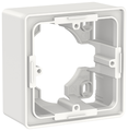 Коробка наружного монтажа Schneider Electric NU800218, белый