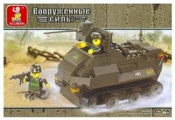 Конструктор SLUBAN Вооруженные силы M38-B0281