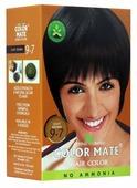 Хна Color Mate травяная краска для волос, тон 9.7 light brown