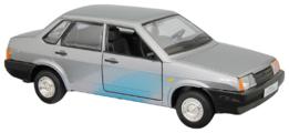 Легковой автомобиль Автопанорама Мировые легенды ВАЗ 21099 1:22 22 см