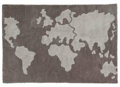 Ковер Lorena Canals Карта мира