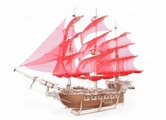 Сборная модель Lemmo Корабль Пегас (01-40)