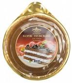 Коржи для торта Виадук Невский бисквитный темный