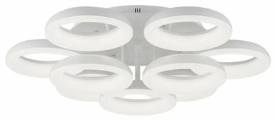 Люстра светодиодная Citilux Паркер CL225190R, LED, 108 Вт