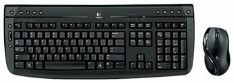 Клавиатура и мышь Logitech Cordless Desktop Pro 2800 Black USB