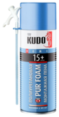 Монтажная пена KUDO HOME 15+ 520 мл всесезонная