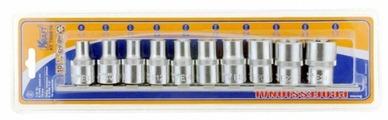 Набор торцевых головок KRAFT KT 700816 10 шт.