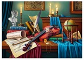 Пазл ART PUZZLE Натюрморт со свечами (ХАП1000-4451), 1000 дет.