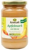 Пюре Alnatura яблочное с грушей банка 360 г