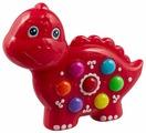 Интерактивная развивающая игрушка Азбукварик Веселушки Динозаврик