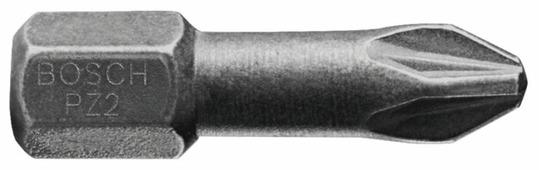 Бита BOSCH Diamond Impact PZ-2 25мм