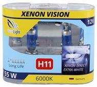 Лампа автомобильная галогенная ClearLight XenonVision MLH11XV H11 55W 2 шт.