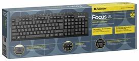 Клавиатура Defender Focus HB-470 RU