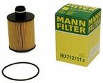 Масляный фильтр Mann-Filter HU712/11X