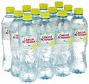 Питьевая вода Святой Источник Лимон негазированная, ПЭТ